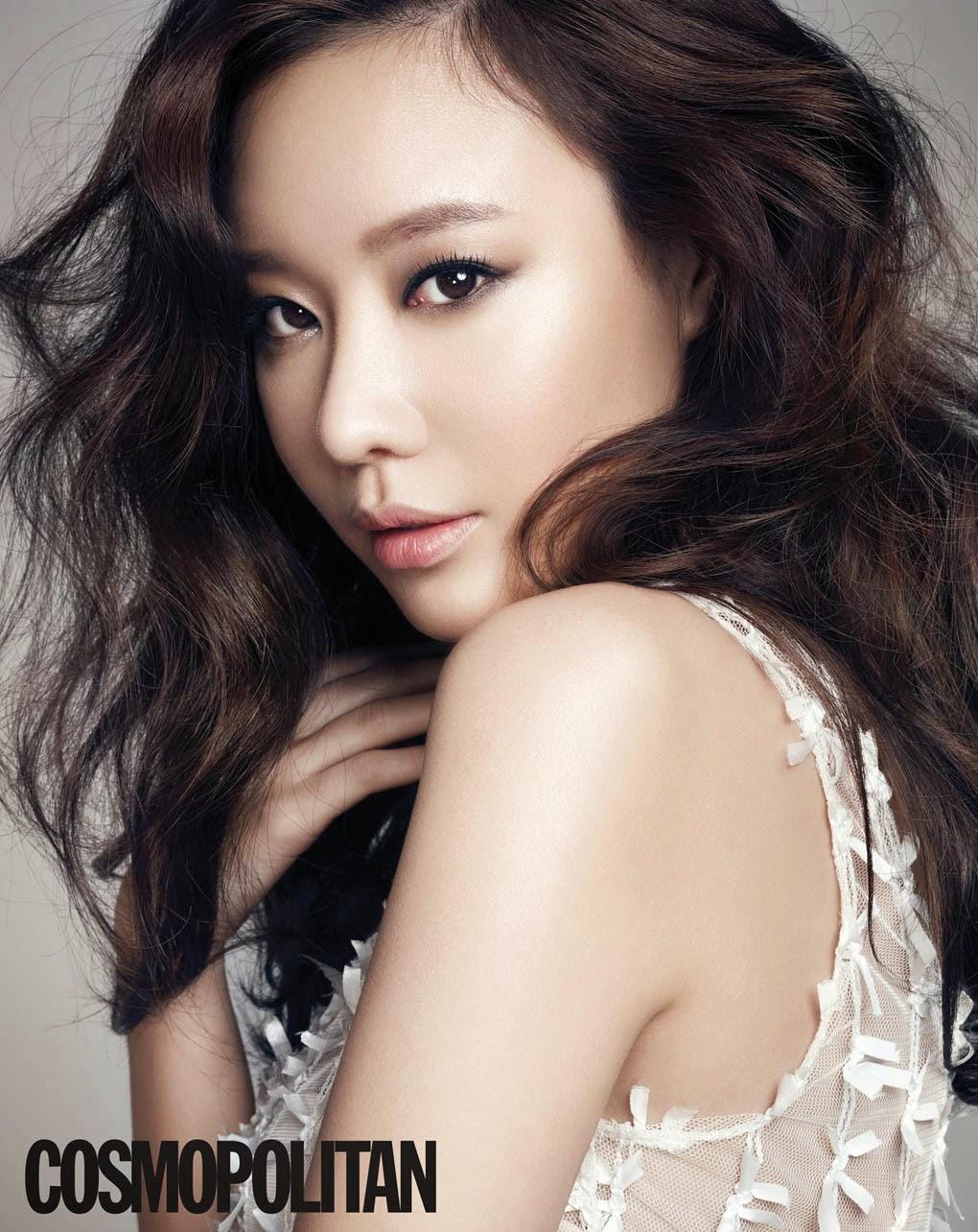 Kim Ah Joong - Cosmopolitan Magazine February Issue 2014