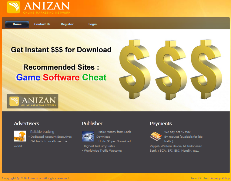 Anizan Google Adsense Alternative - Kepowan.ga