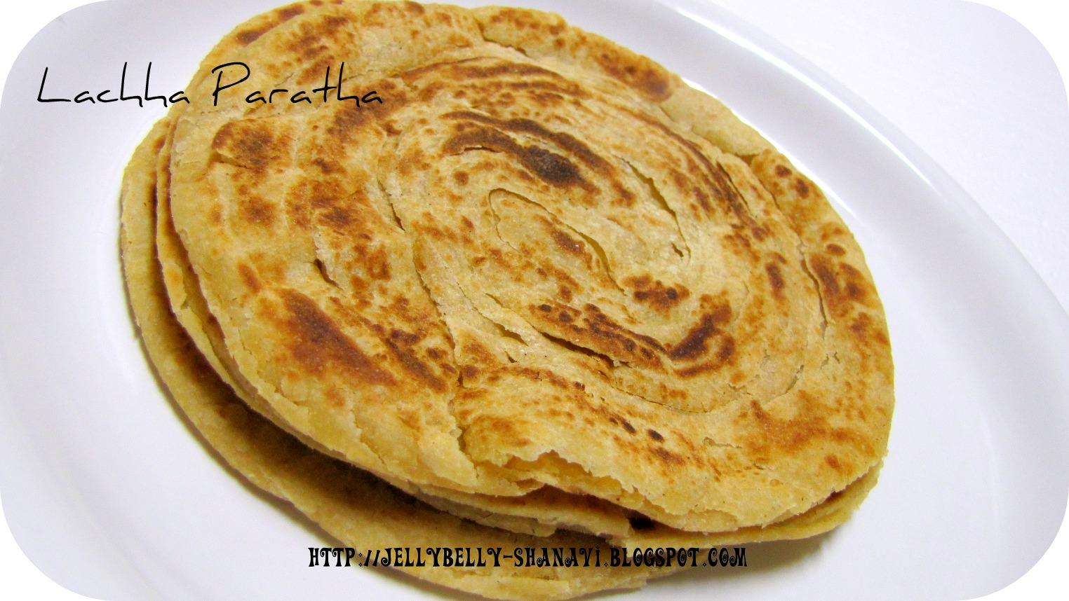 kitchen secrets and snippets lachha paratha