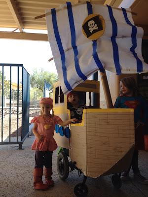 Pirate Ship Wheelchair Costume