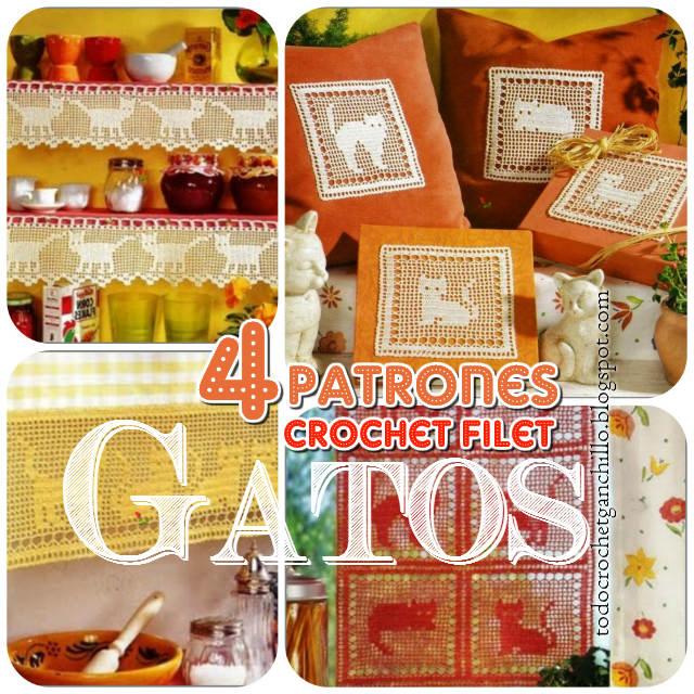 Deco Gato Crochet / patrones y muestras | Todo crochet