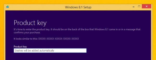 windows 8.1 setup screen print 2