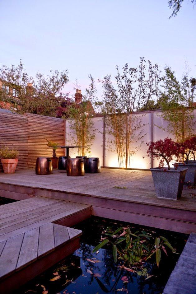 ديكور الحدائق تصاميم حديثة لديكور الفناء الخارجي