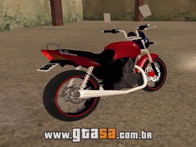 Honda Fan 150 Edit para GTA San Andreas