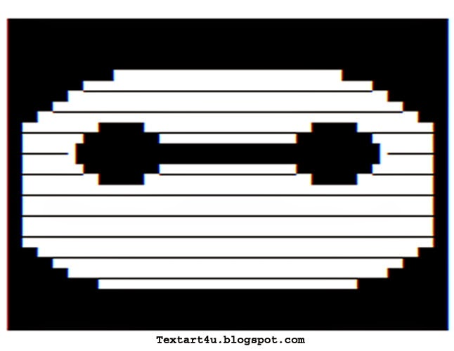 Disney Baymax Face Text Art Copy Paste Code Cool Ascii Text Art 4 U