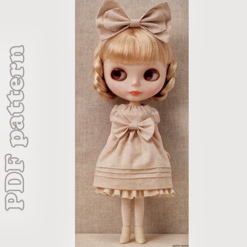 Blythe Dress and Petticoat Sewing Patterns PDF | CraftyLine e ...