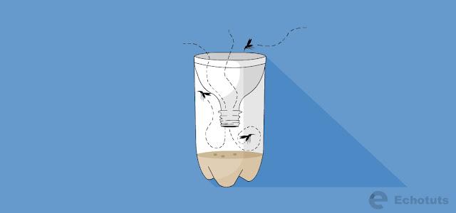 Cara Membuat Perangkap Nyamuk Dengan Botol Bekas - echotuts
