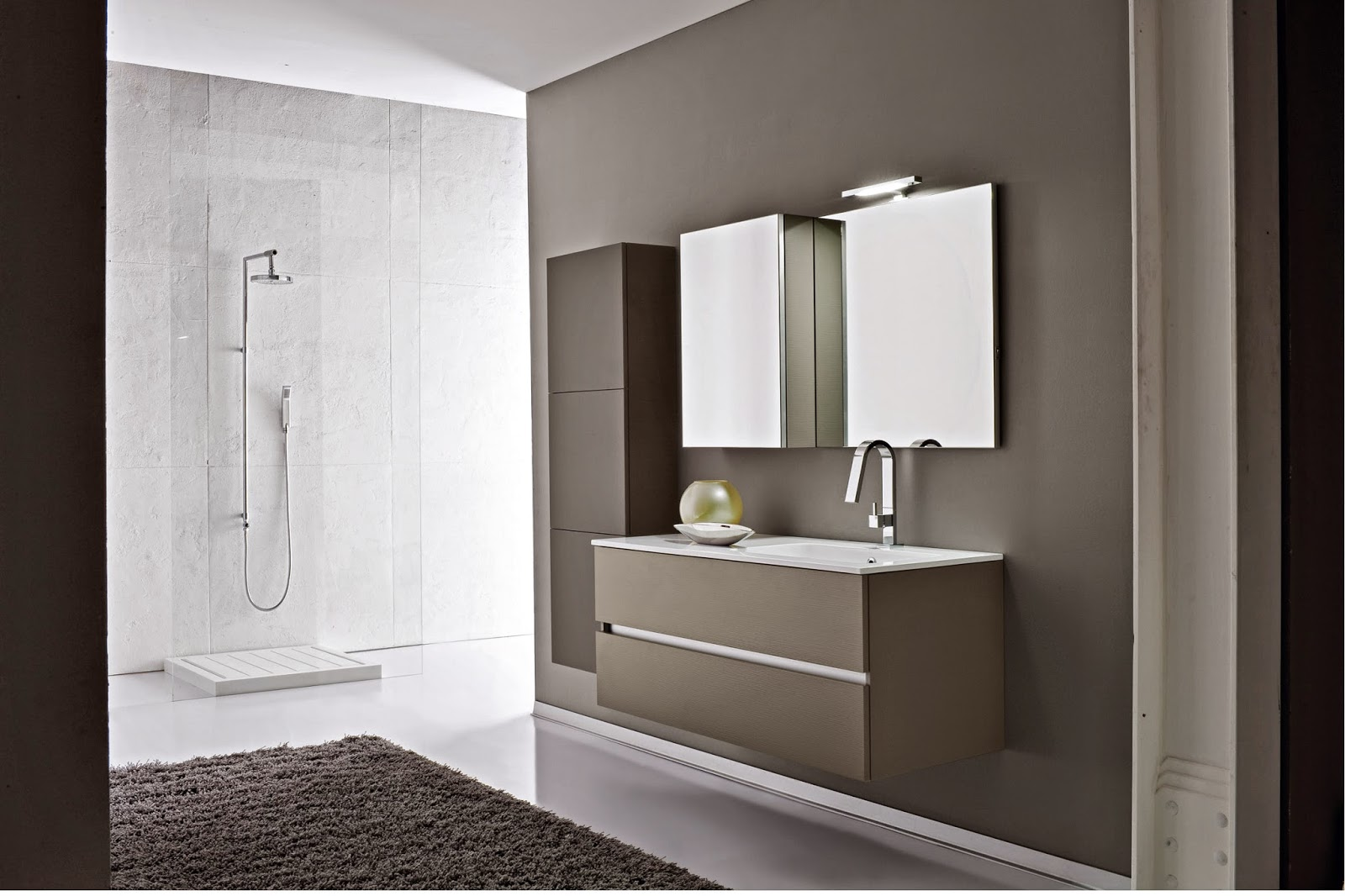 immagini di arredo bagno moderno. immagini bagni minimalisti idee ... - Immagini Di Arredo Bagno