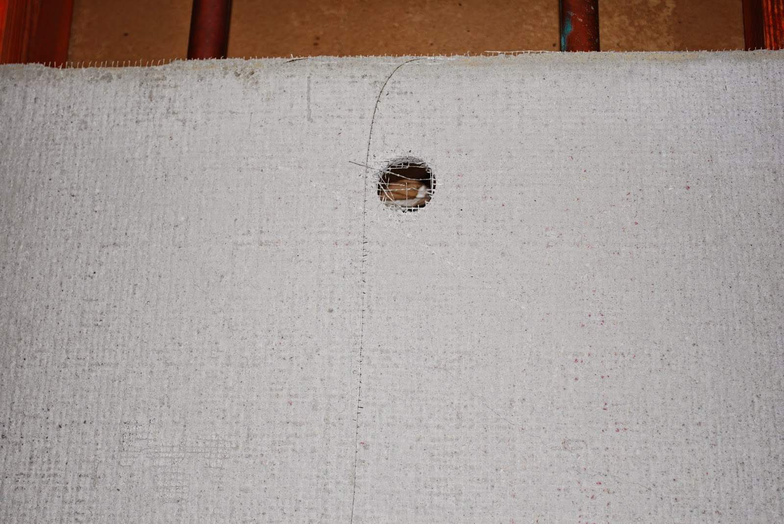 how to cut cement board for pipes in shower