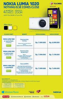 Promo Nokia Lumia 1020 Harga Mulai Rp 6.999.000