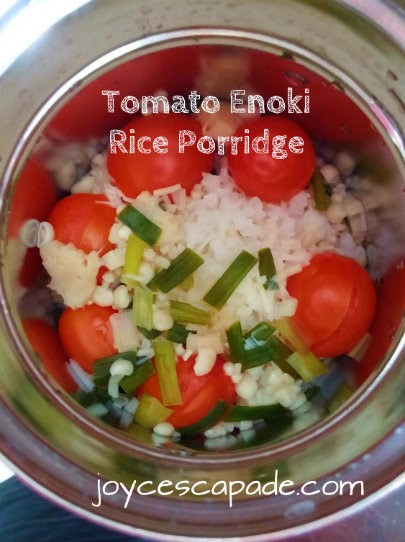 March 2015 joy n escapade tomato enoki rice porridge cooked in zojirushi thermal food jar second trial forumfinder Image collections