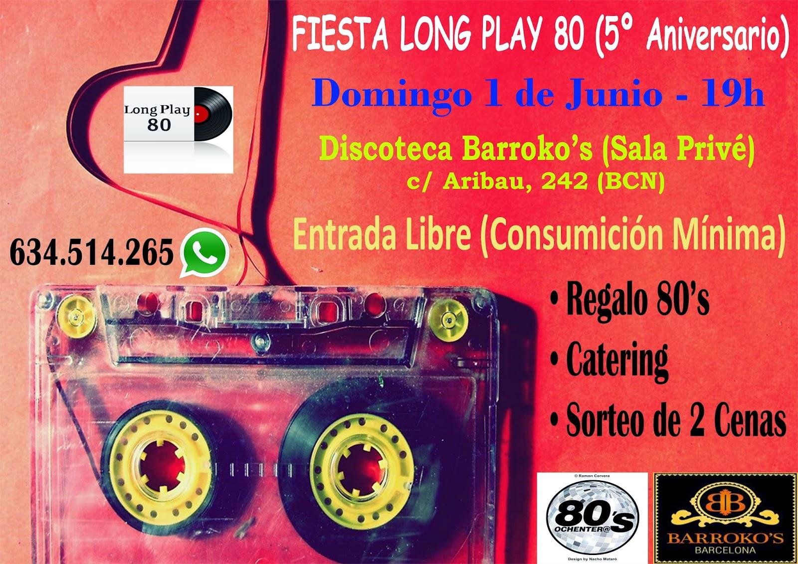 Flyer Fiesta 5º Aniversario 01/06/2014