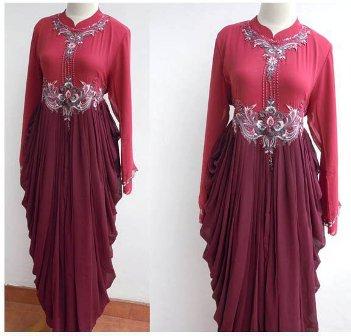 Wallpaper Gambar Model Trends Baju Muslim Wanita Lebaran