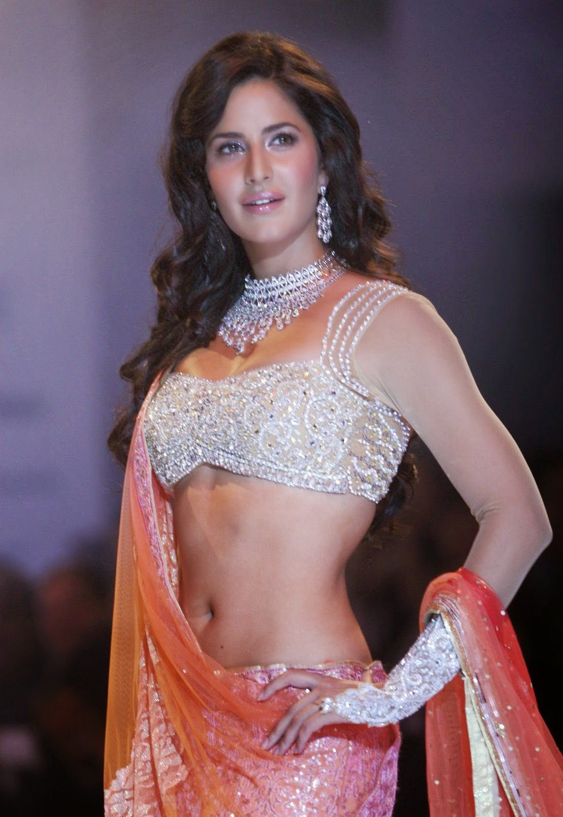Katrina Kaif Navel Show Photos