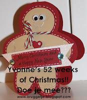 Yvonne's kerstchallenge