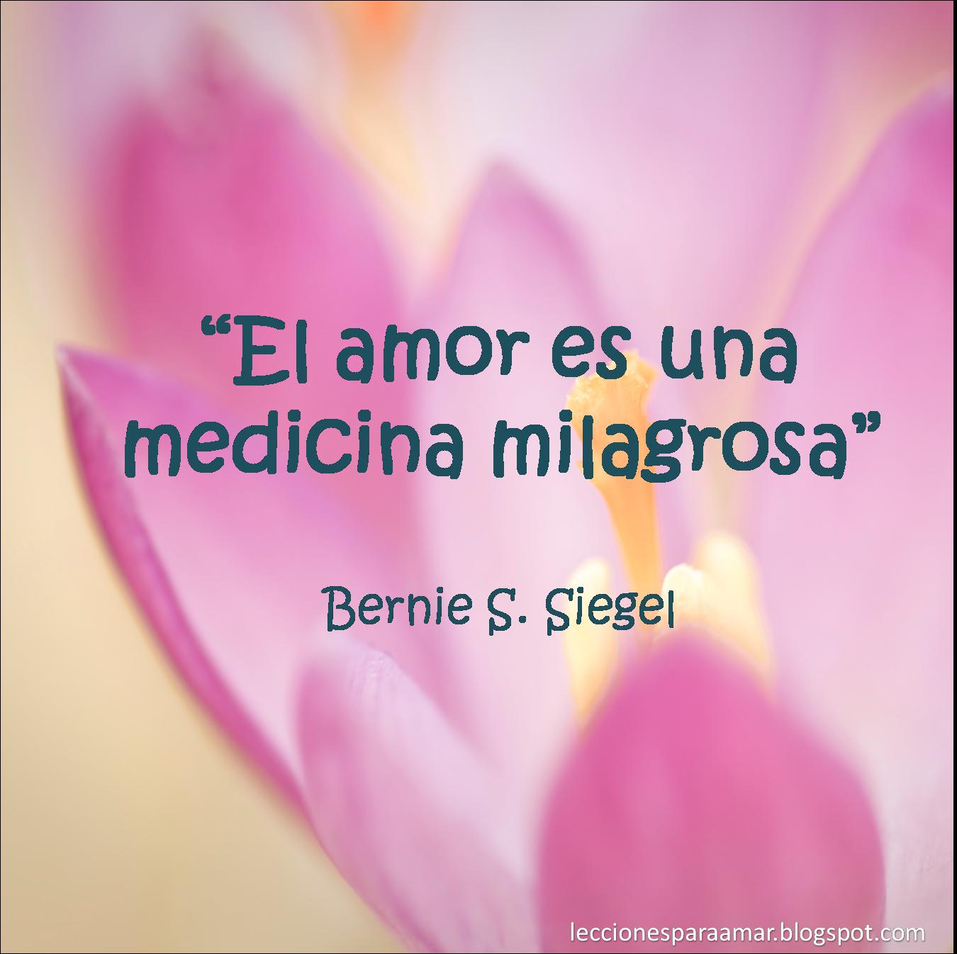 El amor es la mejor medicina