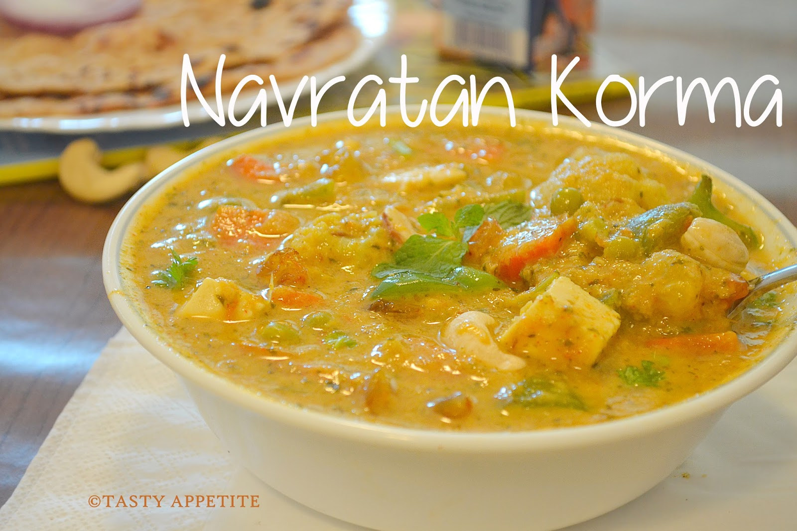Navratna korma mixed veg curry side dish for roti naan navratna korma mixed veg curry side dish for roti naan forumfinder Gallery