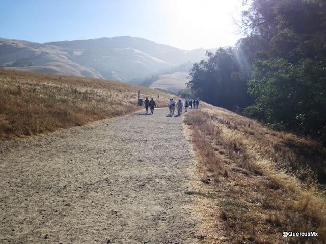 Inicio de ruta en el Mission Peak