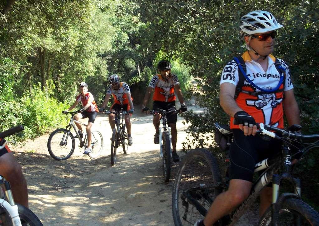 Ciclopatas Premi� de Mar: Norris in the mountain