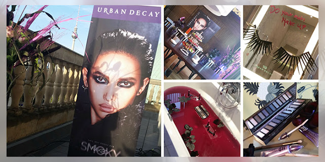 Urban Decay Naked Smoky Palette Release Launch Berlin