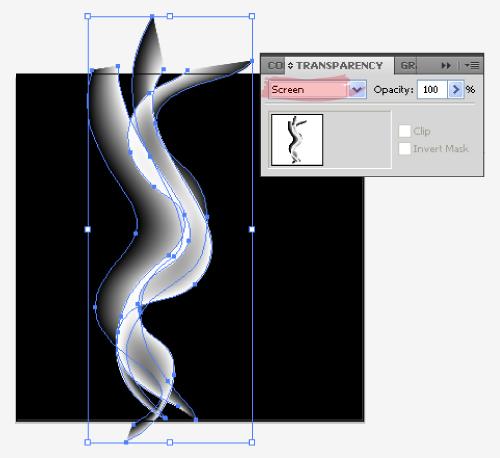 Membuat Efek Asap dengan Illustrator