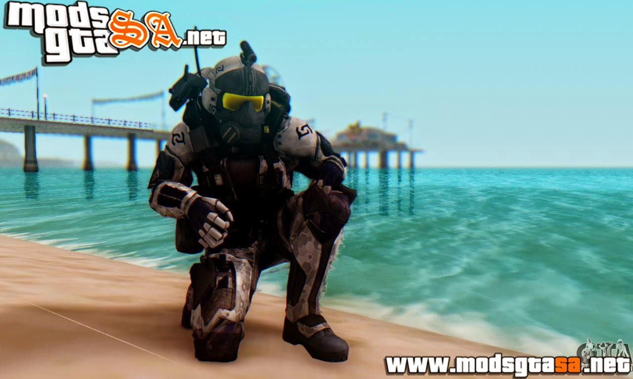 SA - Skin C.E.L.L. Soldier do Crysis 2