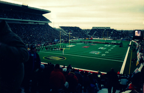 91st Grey Cup It Was A Pretty Cool Spectacle Although Freezing This Regina Saskatchewan In November After All