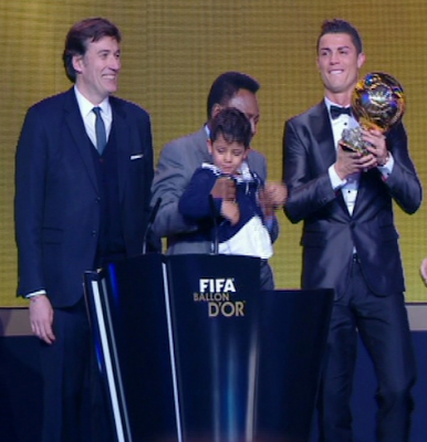 Cristiano Ronaldo - Balón de Oro 2013
