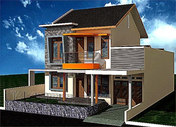 Gambar Desain Rumah Minimalis 2 Lantai Yang Keren  Arsitek Rumah