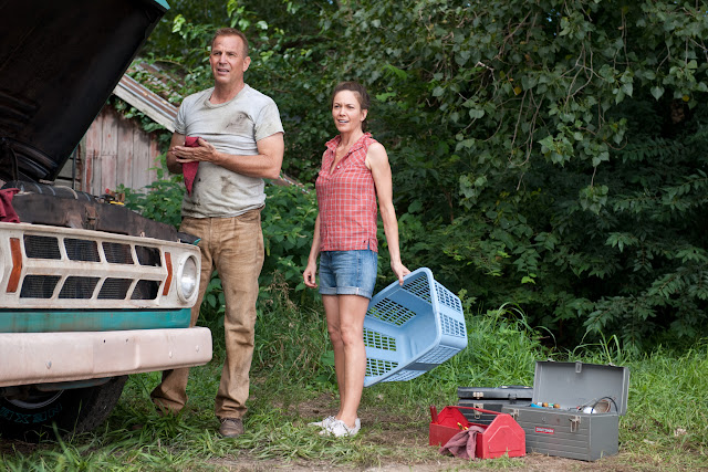 Man of Steel KEVIN COSTNER as Jonathan Kent and DIANE LANE as MARTHA KENT