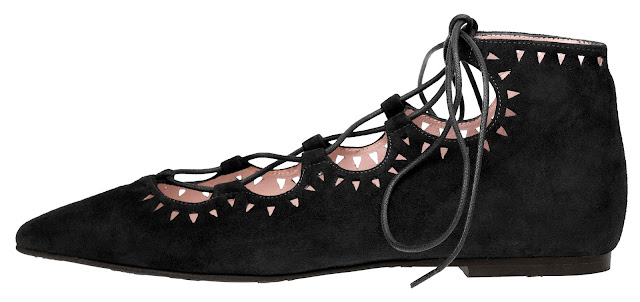 Pretty Ballerinas, Lace Up, Zapatos Brujita, Shoes, Shoes adict, trendy, fashion blogger