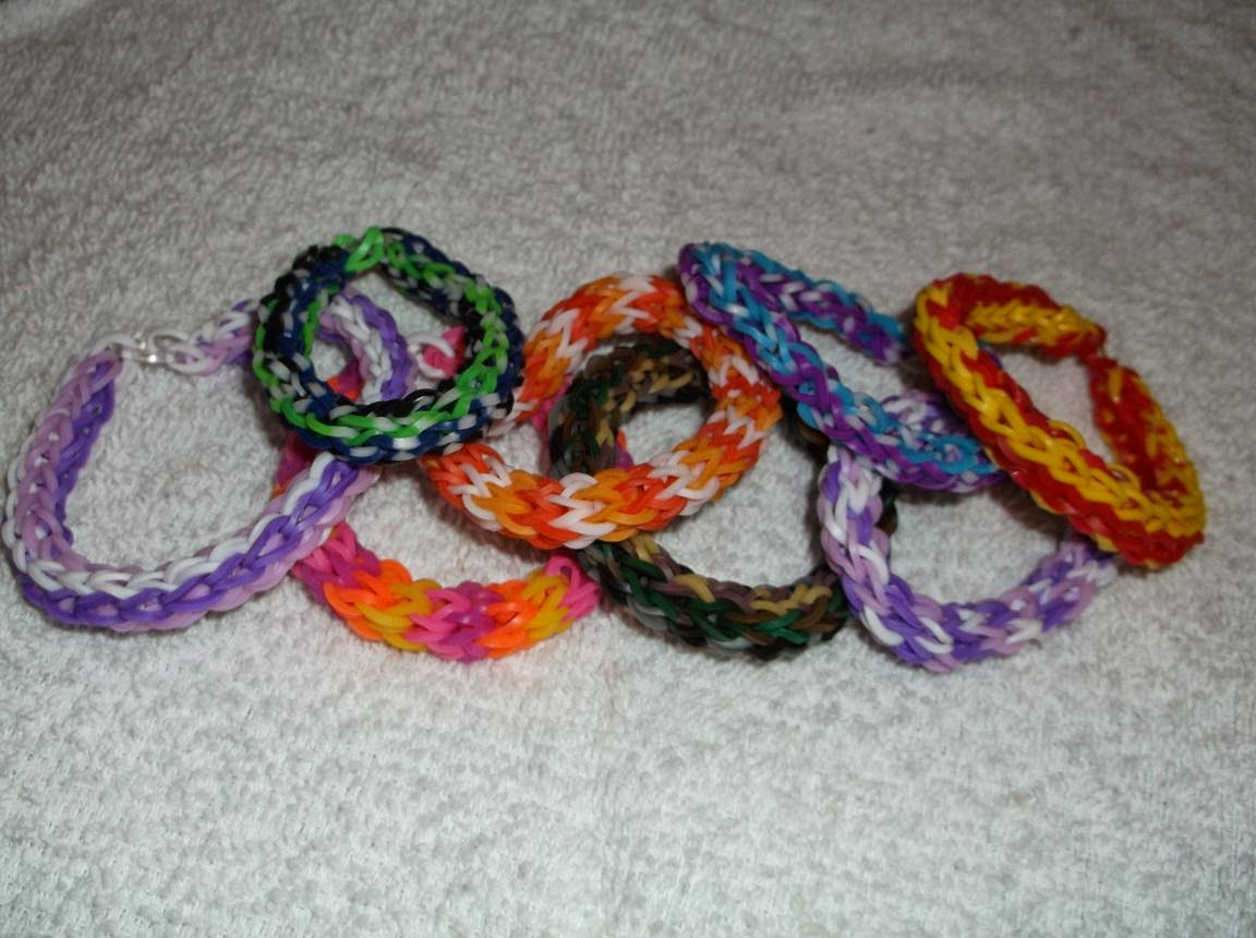 single double triple rainbow loom