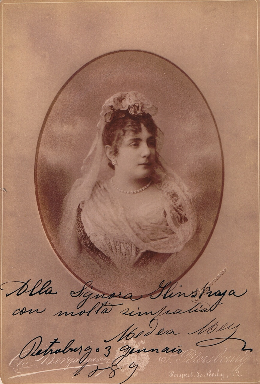 RUSSIAN SOPRANO MEDEA MEI-FIGNER (1859-1952) CD