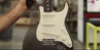 Gitar Fender Stratocasteer Kardus