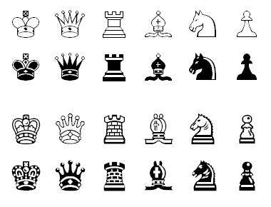 HTML Chess Symbols
