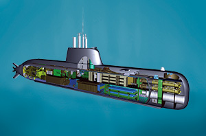 thyssen krupp sous marins