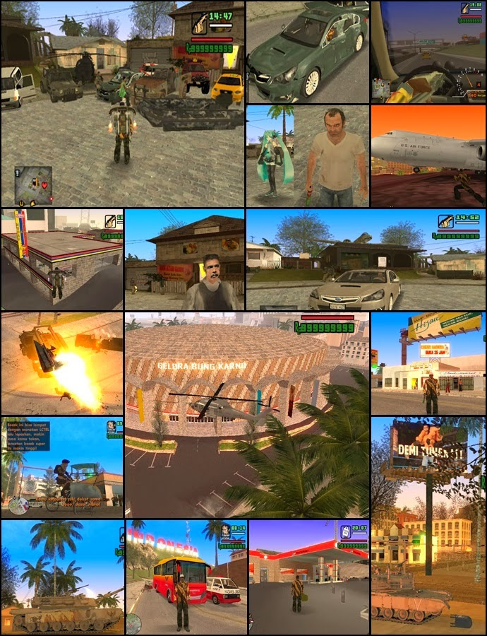 Download Game GTA Extreme Indonesia V5 Terbaru 2014