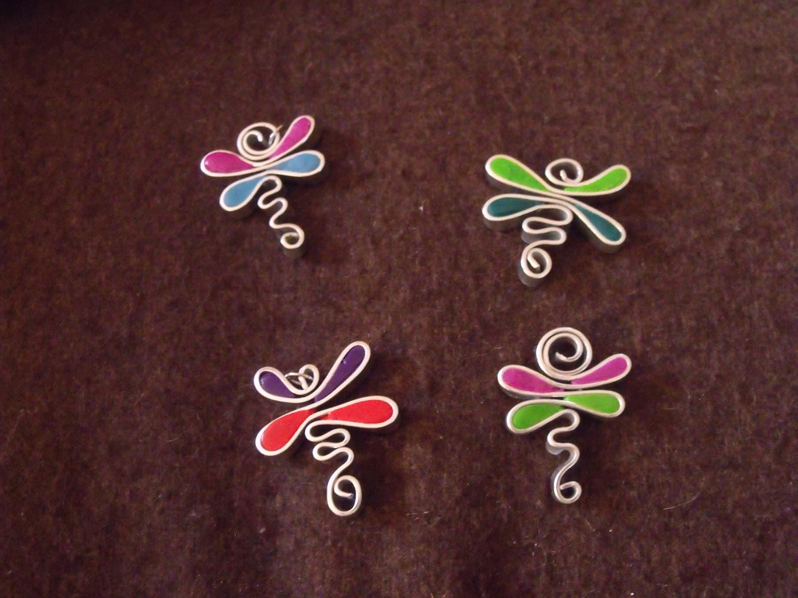 Chez fine poppins octobre 2012 - Tuto bijoux pate fimo et fil aluminium ...