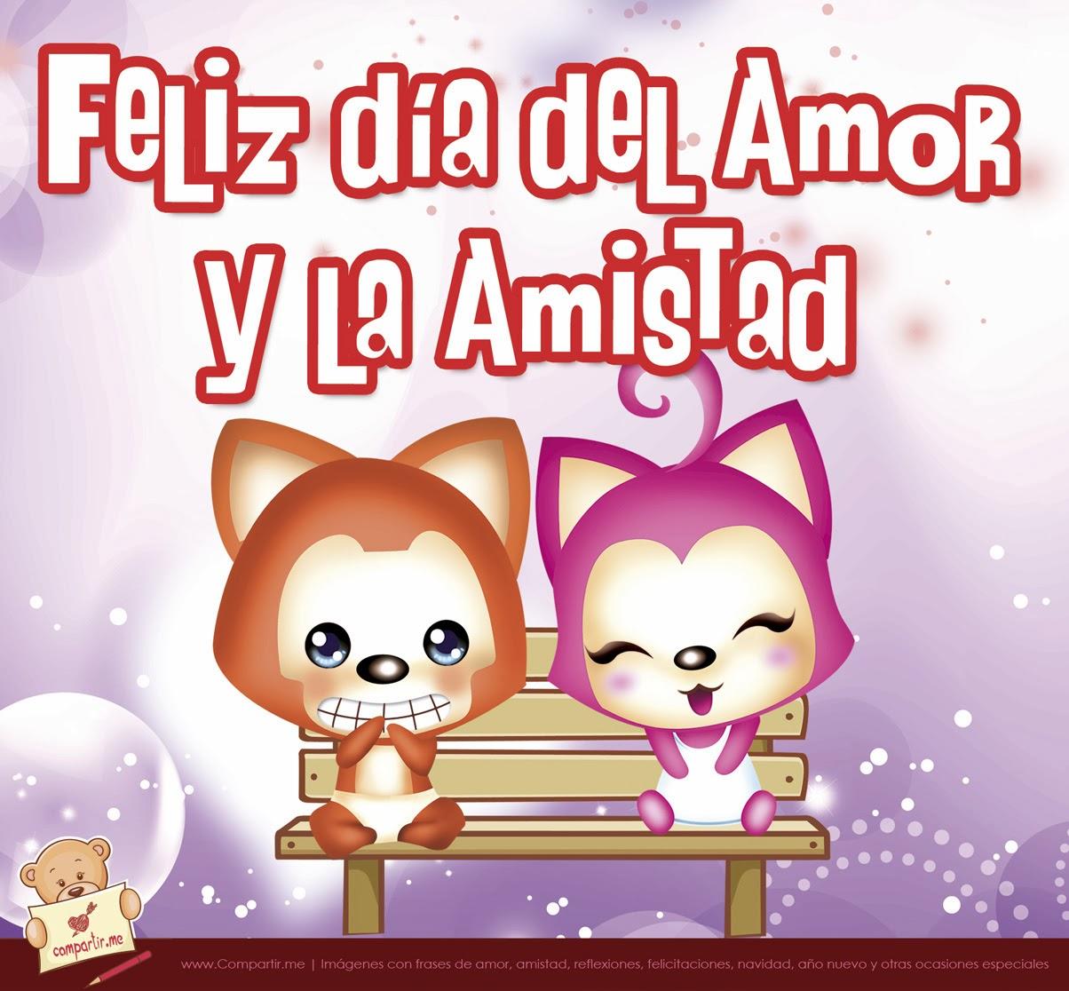 Frases De Amistad Feliz Da Amor Y Amistad