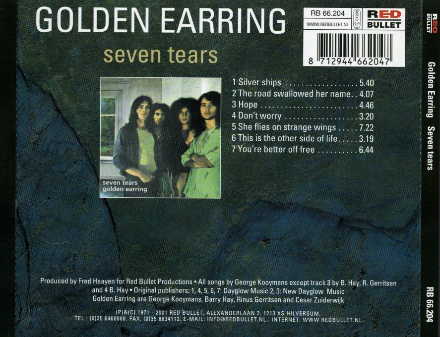 My Music Collection Golden Earring