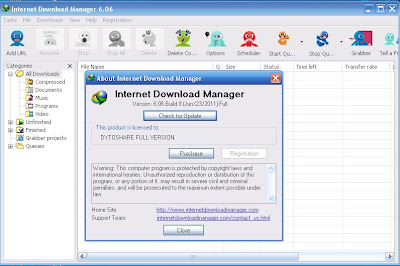 Internet Download Manager IDM 6.06 Build 8