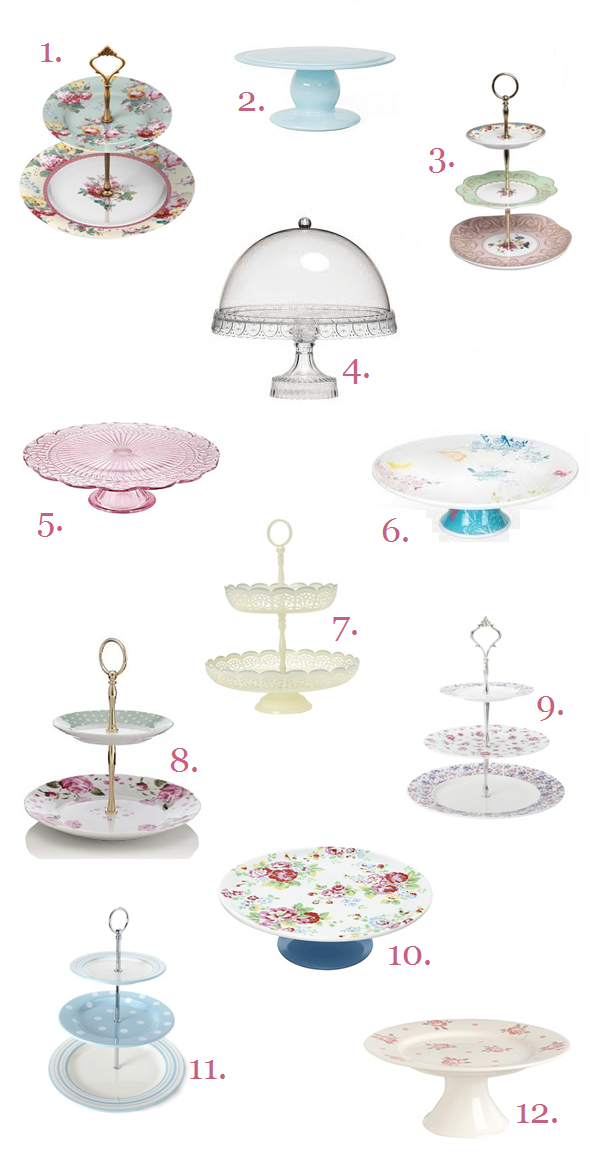12 Pretty Cake Stands For Under 163 25 Each Victoria S