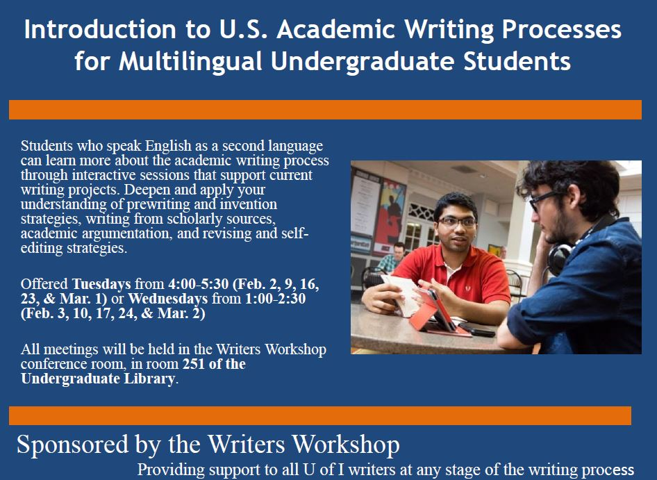 Learn academic writing
