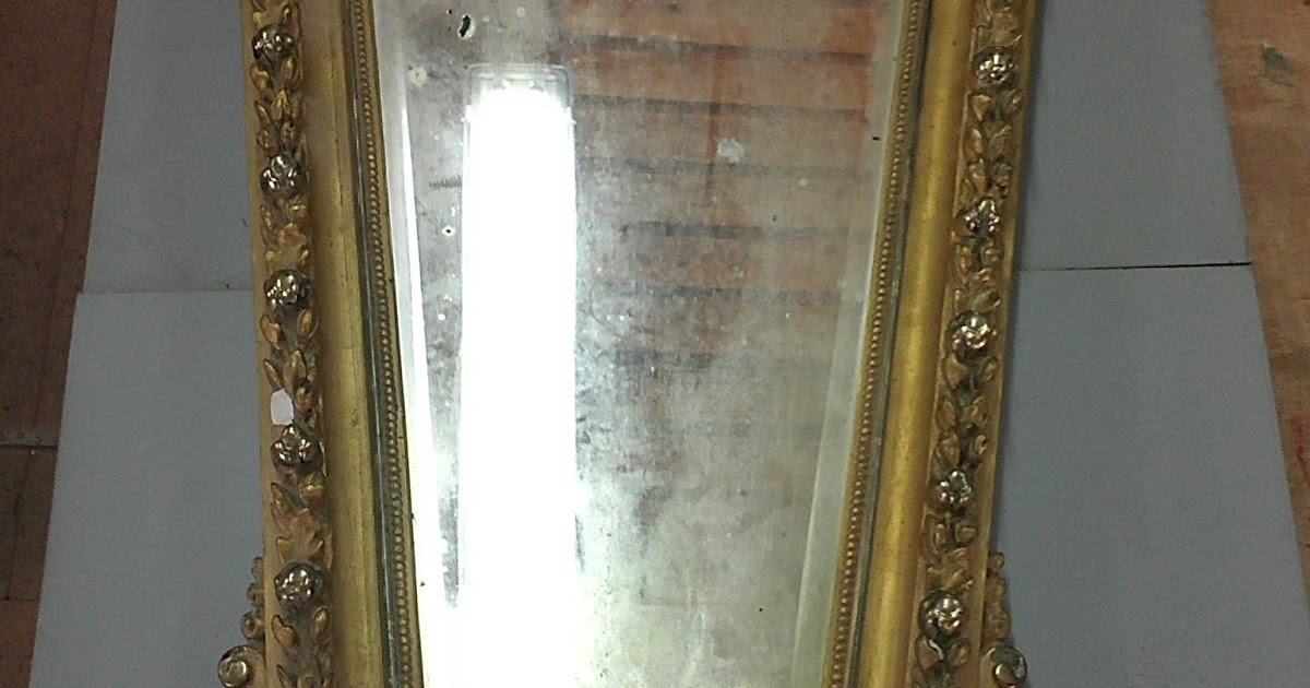 Restaurata restauraci n de un espejo imperio for Espejo publico hoy completo