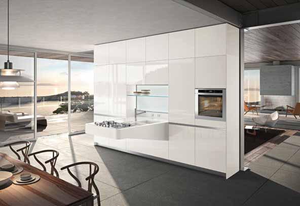 Desain Dapur dan Meja Makan Modern Minimalis Dari Snaidero