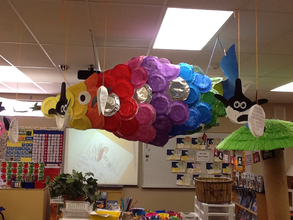 Classroom Decoration Ideas For Elementary ~ Ocean unit