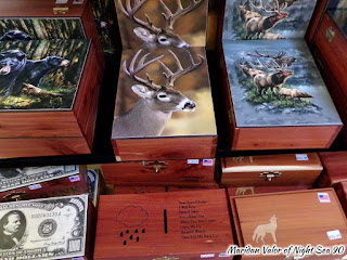 50000 Silver Dollar Bar Review, located in Haugan Montana. Collectible wooden boxes. Night Sea 90