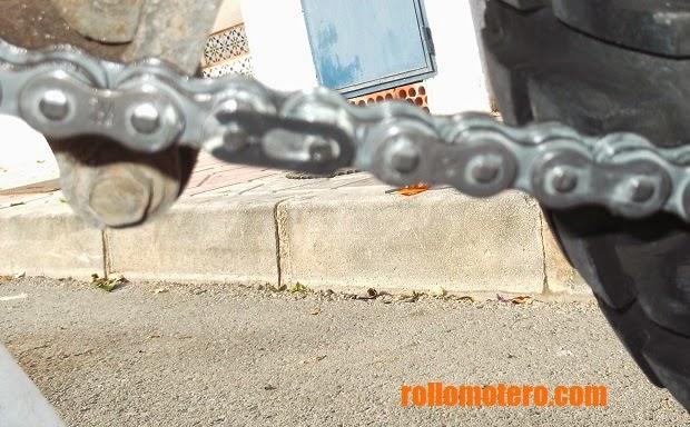 Chain closed