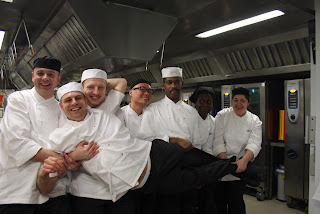 Chef and his 2012 team