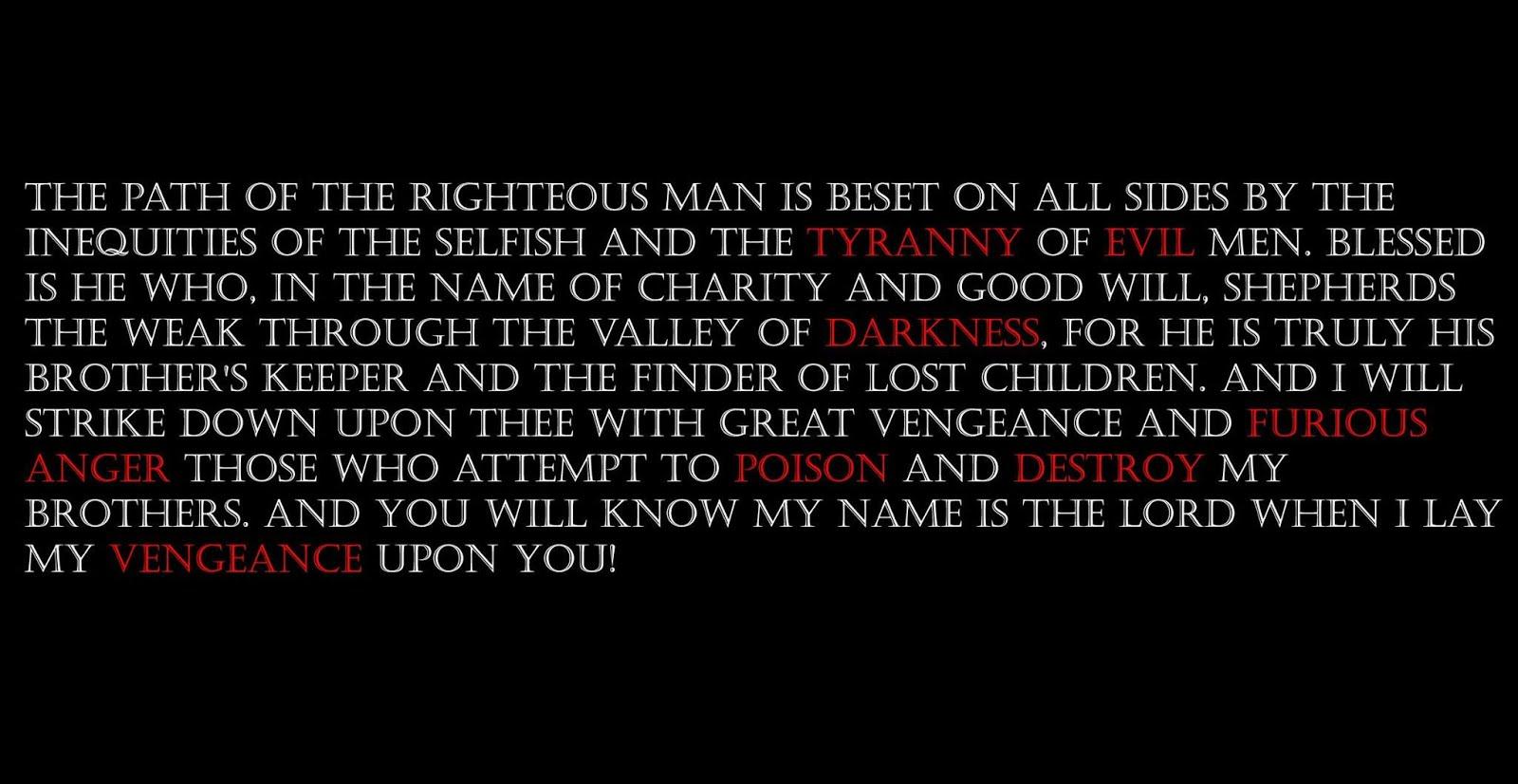 Ezekiel 25.17